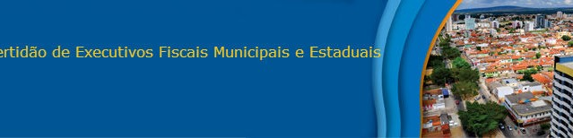 Certidão do Distribuidor de Executivos Fiscais Municipais e Estaduais
