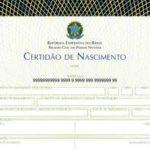 Certidão dos Cartório de Registro Civil – Nascimento Casamento Óbito