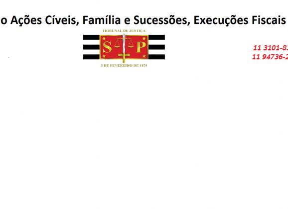 Certidão Ações Cíveis, Família e Sucessões, Execuções Fiscais e Jec